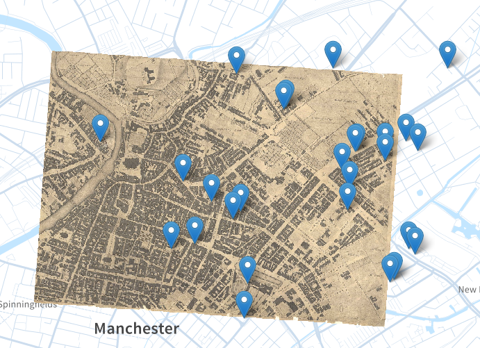 manchester UE map