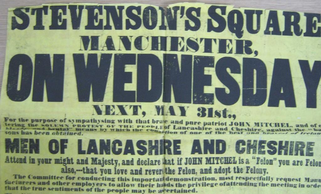 TNA, HO 45/2510, Manchester, poster, 1848