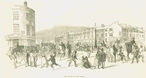 scene at New Cross, 1842