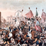 Peterloo massacre cartoon