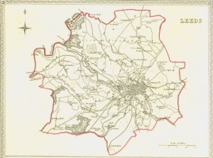 Leeds, 1832 electoral boundaries