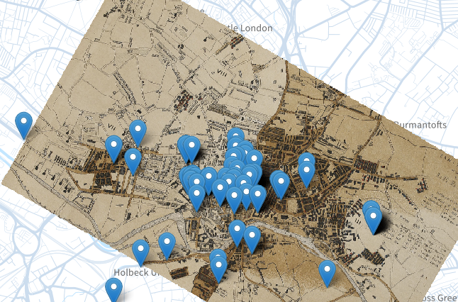 leeds cholera map