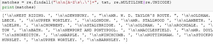 classifier code